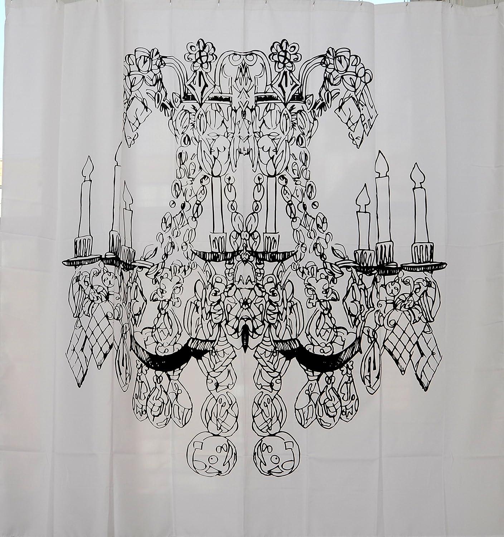 Exclusive Izola Designer Shower Curtain Paris AX-AY-ABHI-07051