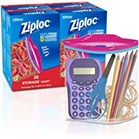 Ziploc Storage Bags, 120Count
