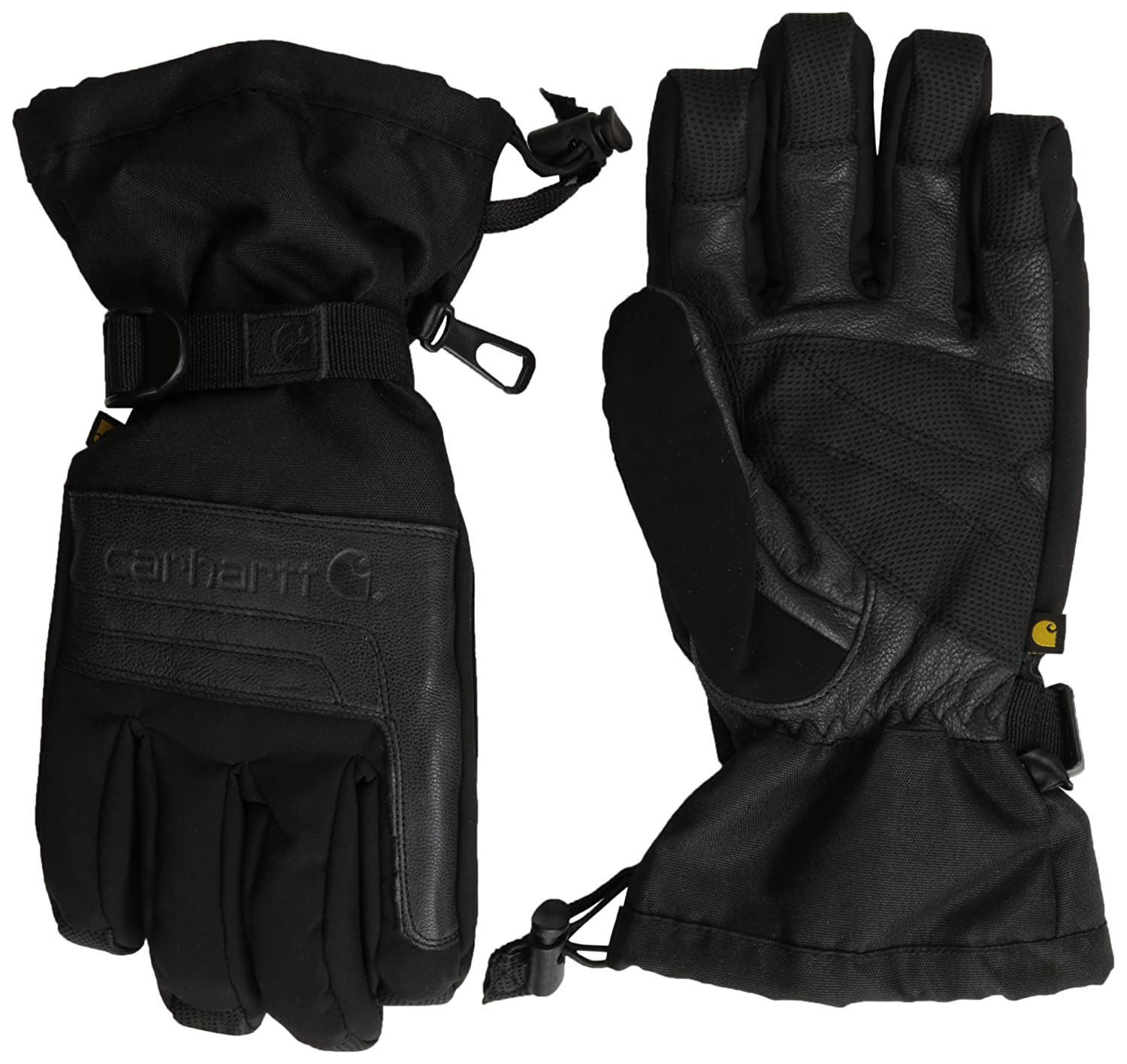 Carhartt Men's Cold Snap Insulated Work Glove, Black, Small A505
