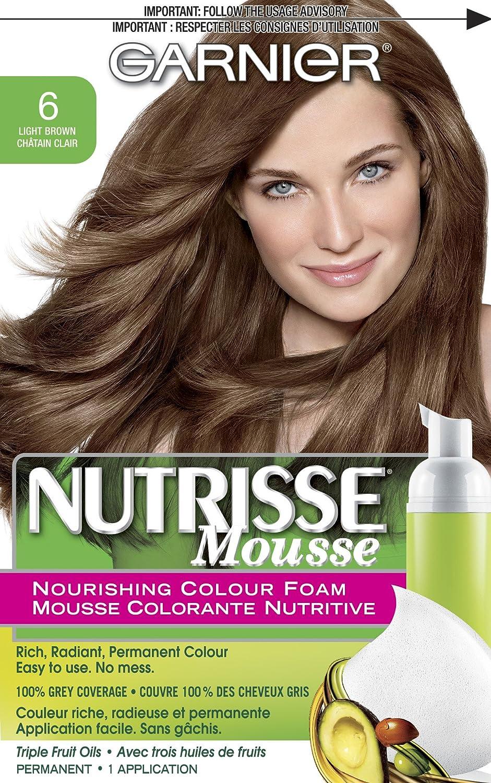 Amazon Garnier Nutrisse Nourishing Color Foam Light Brown