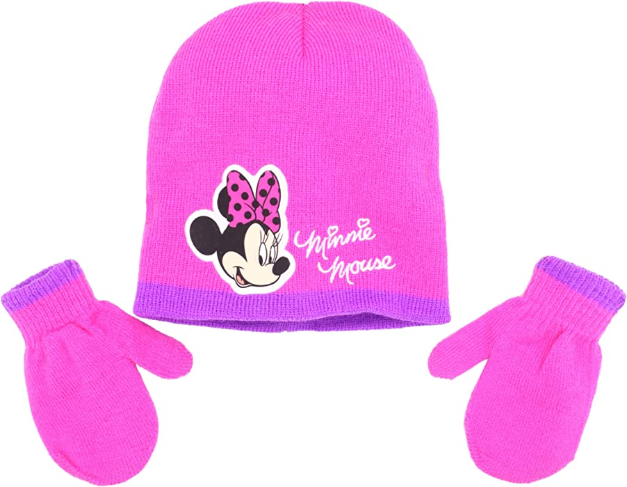 9eabc6d5a29 Amazon.com  ABG Accessories Little Girls  Minnie Mouse Hat And ...