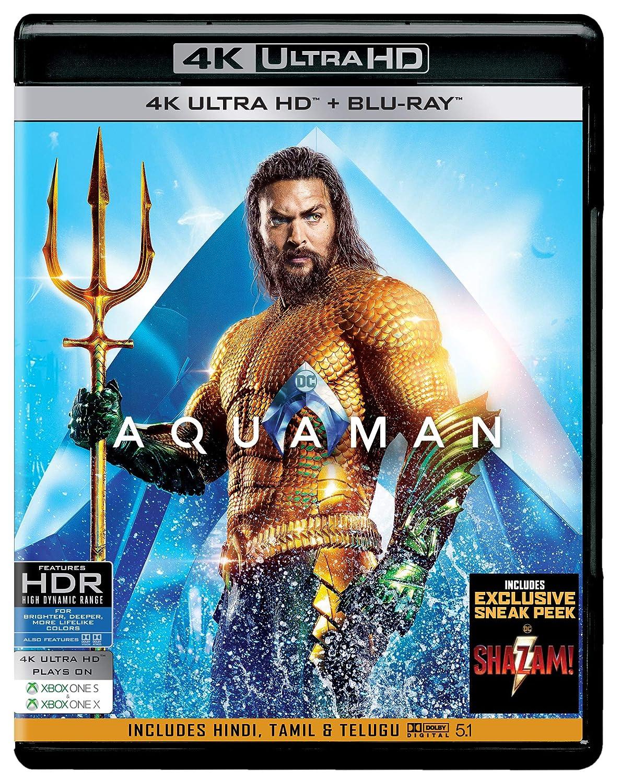Amazon in: Buy Aquaman (4K UHD & HD) DVD, Blu-ray Online at