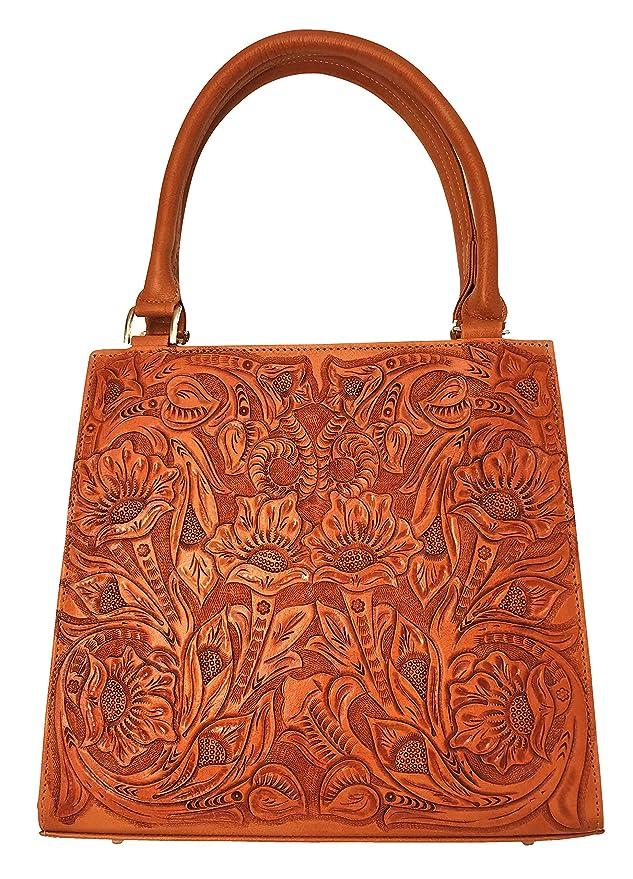Vintage Handbags, Purses, Bags *New* Helena Vintage Floral Artisan Leather Handmade Shoulder Handbag Designer Gift for Women $194.95 AT vintagedancer.com