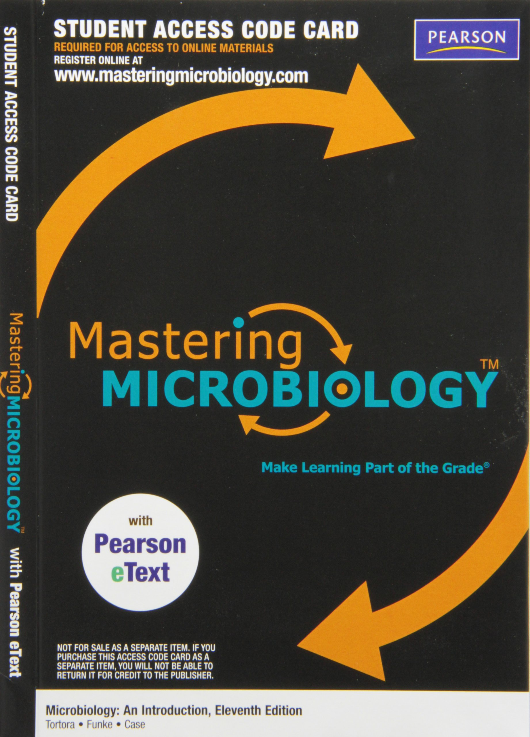 Masteringmicrobiology with pearson etext valuepack access card masteringmicrobiology with pearson etext valuepack access card for microbiology an introduction me component gerard j tortora berdell r funke fandeluxe Gallery