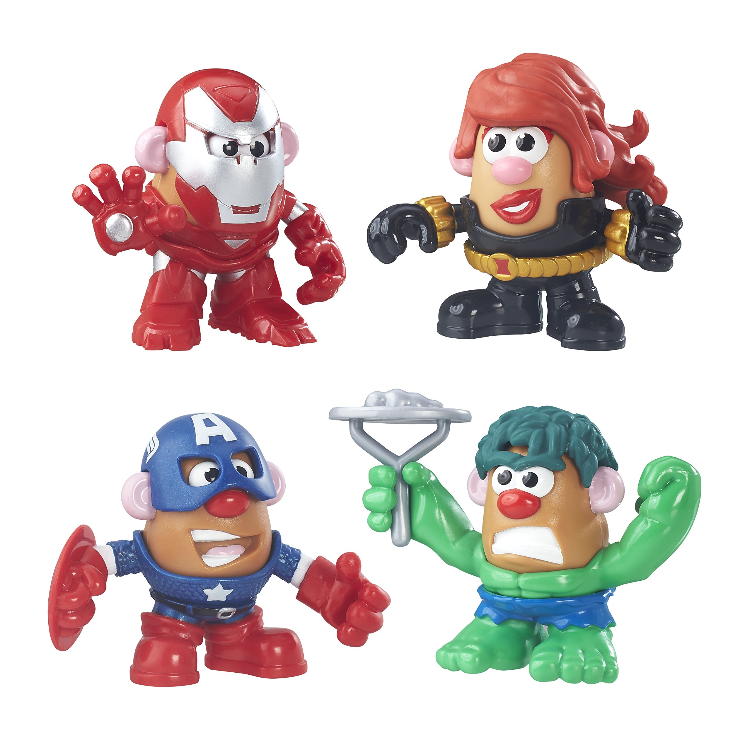 Mr Potato Head Playskool Friends Marvel Super Rally Pack