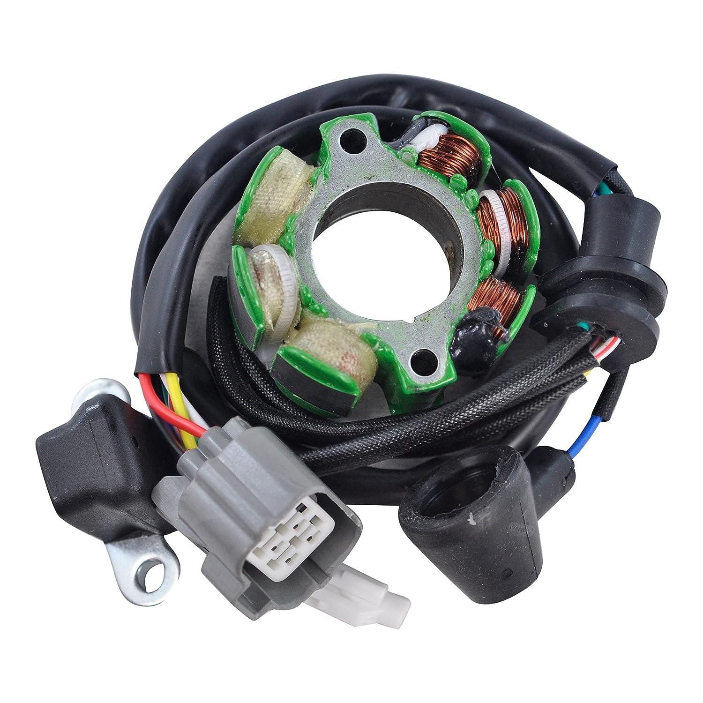Stator For Kawasaki KX 250 F//Suzuki RM250 RM-Z250 2001 2002 2003 2004 2005 2006 2007 2008 2009 2010 OEM Repl.# 21003-0048 21003-0091 21003-0027 K2100-30027 K2100-30048 32101-37F10 21003-0015