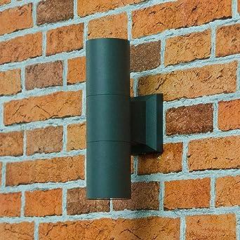 Proyector de fachada para la pared de la casa en luz exterior ...