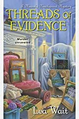 Threads of Evidence (Mainely Needlepoint series Book 2) Kindle Edition