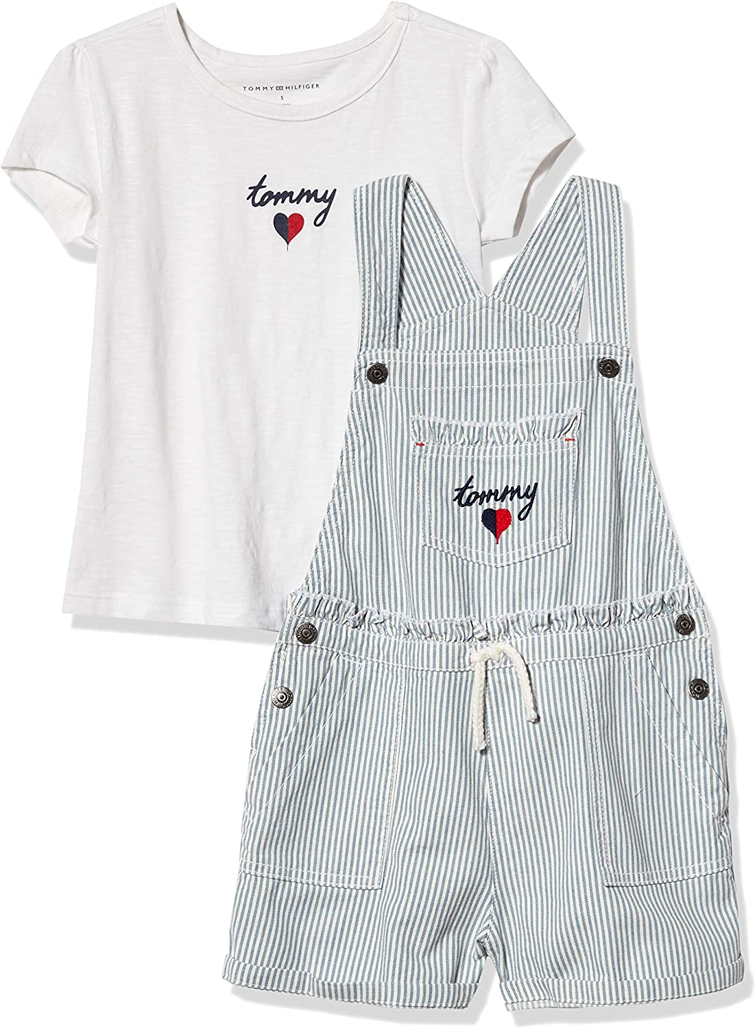 Tommy Hilfiger Baby Boys 2 Pieces Shortall