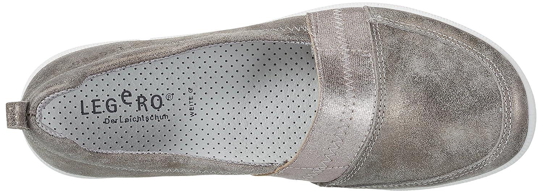 Legero Damen Salina Geschlossene (Taupe Ballerinas Grau (Taupe Geschlossene 38) 2424a3