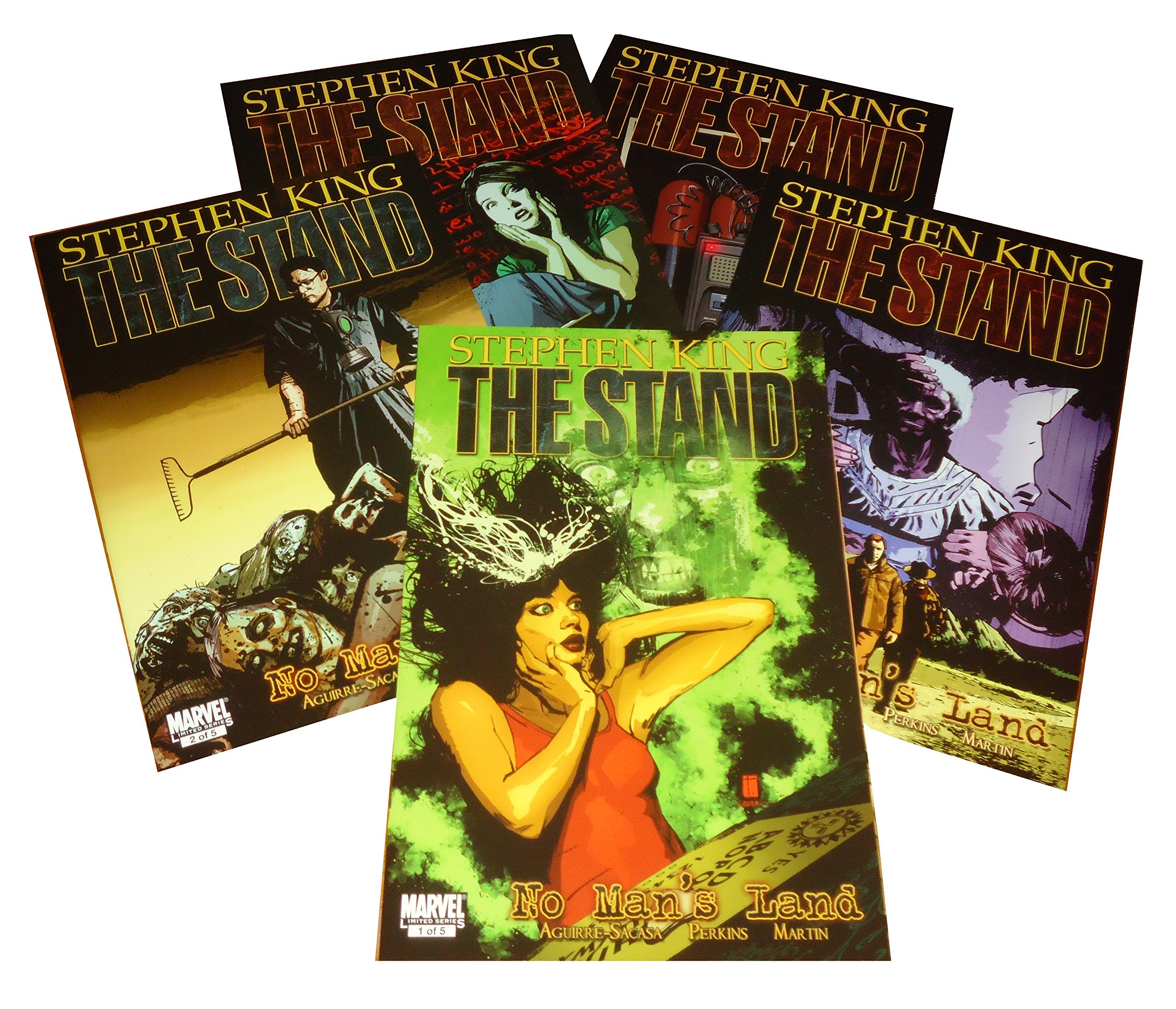 Stephen King THE STAND NO MANS LAND (Five Comic Issues - Set No. 5 in the series) ebook