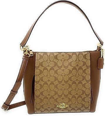 Amazon.com: Coach Pebbled Leather Marlon Hobo Shoulder Handbag ...