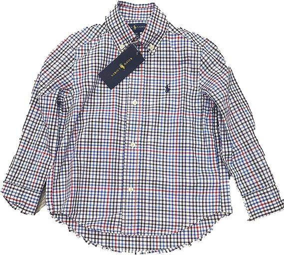 Polo Ralph Lauren - Camisa Cuadros NIÑO: Amazon.es: Ropa y accesorios
