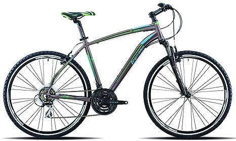 Legnano Ciclo 380 Red Road Bici Da Trekking Uomo Bronzo 52