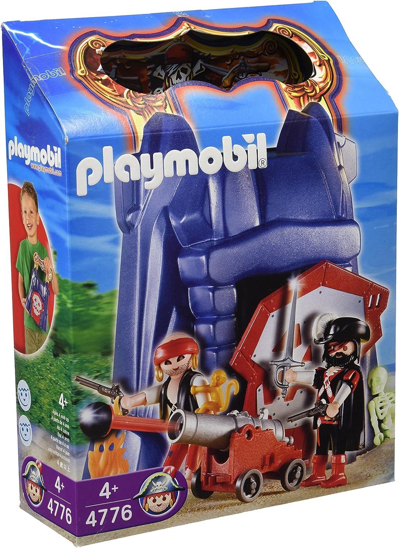 PLAYMOBIL 626047 - Piratas Torre Piratas Portátil: Amazon.es: Juguetes y juegos