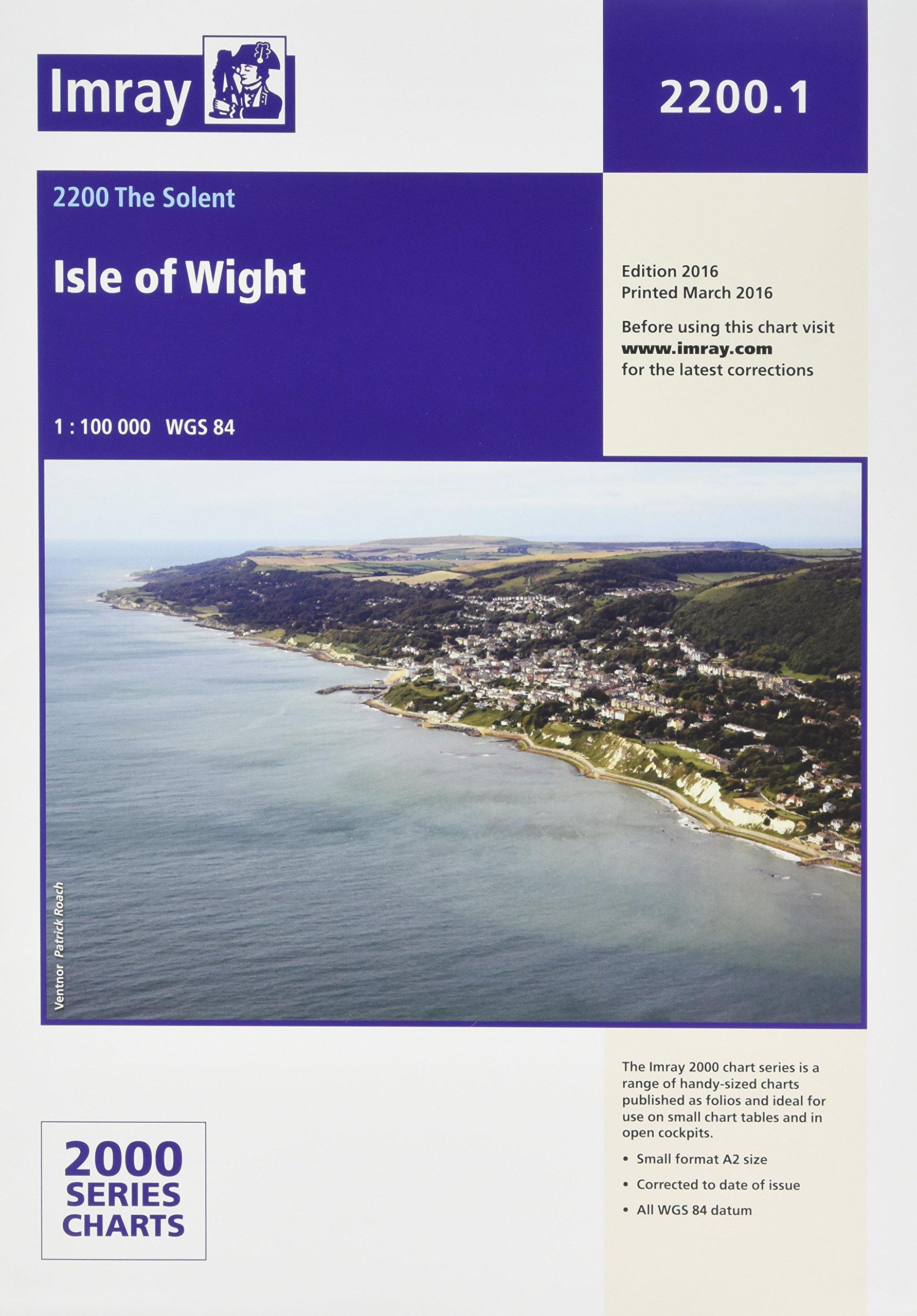 Download Imray Chart 2200.1 Isle of Wight (2000 Series) ebook