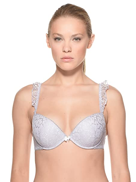 Yamamay Sujetador Campania Push-Up Gris Claro ES 85B (IT II B)