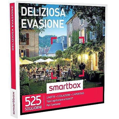 Smartbox - Cofanetto Regalo - DELIZIOSA EVASIONE - 525 soggiorni in ...