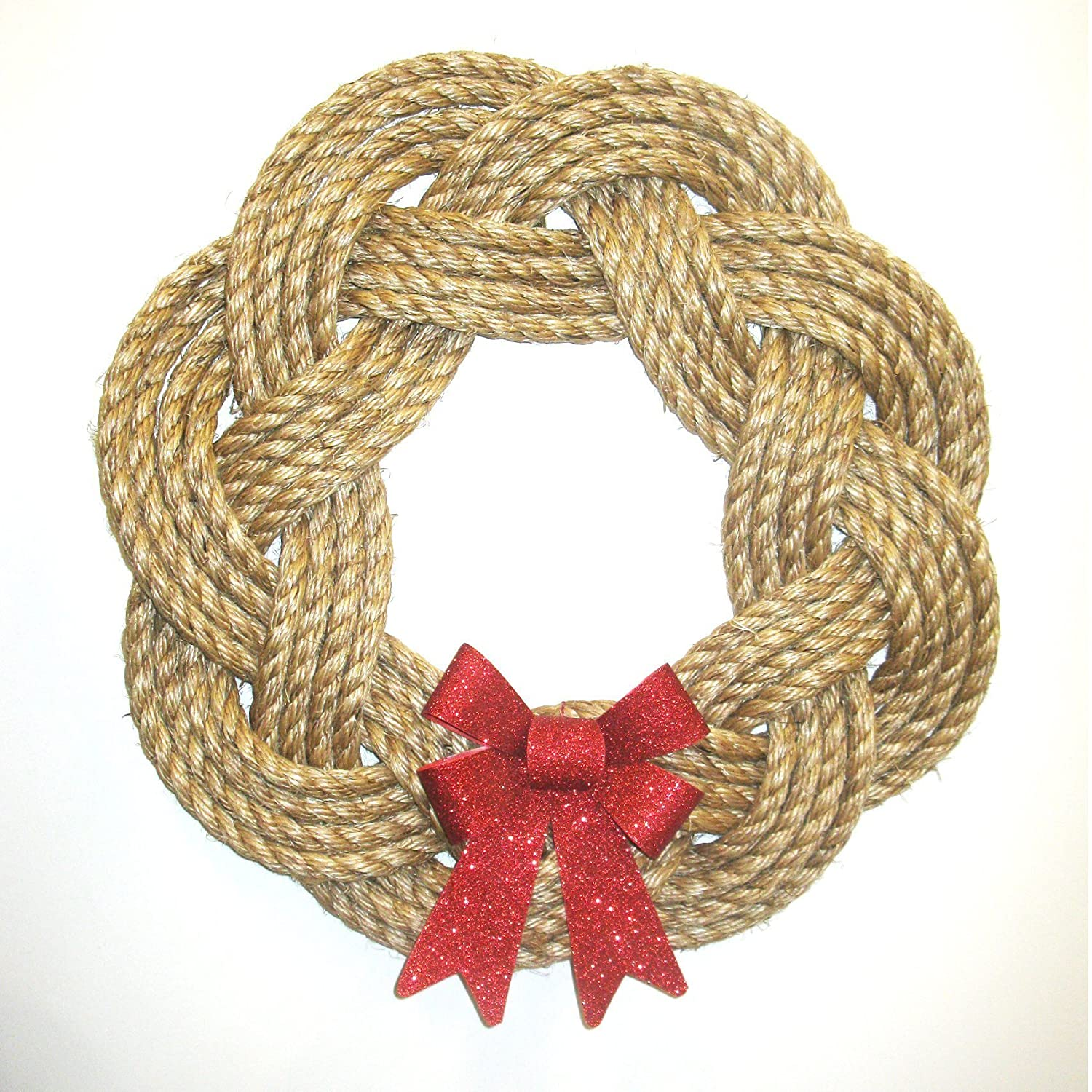 Manila Rope Sailor Knot Wreath