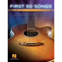 First 50 Songs You Should Fingerpick on Guitar book cover