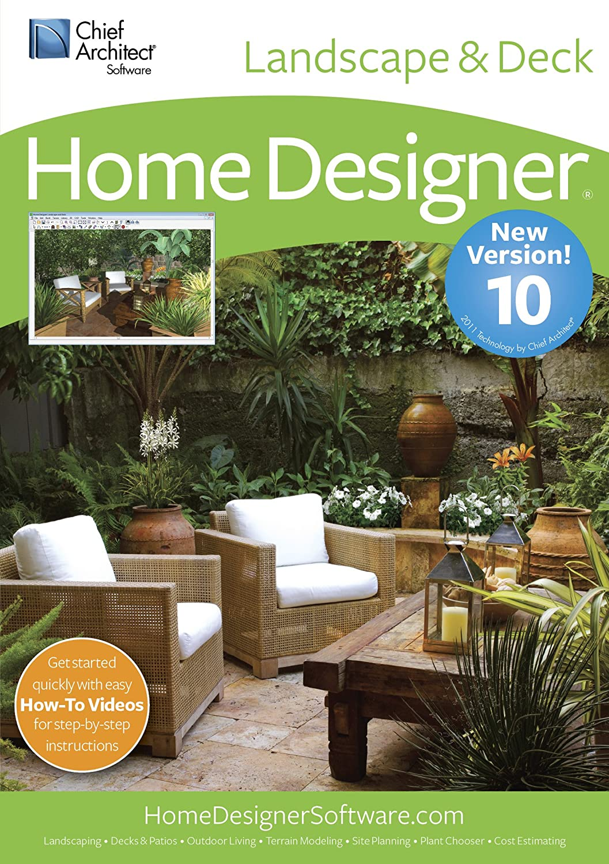 amazon com chief architect home designer landscape and deck 10