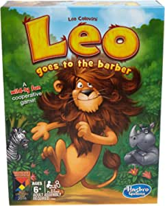 Hasbro Games Leo Goes to The Barber Party Board Game (Amazon Exclusive)