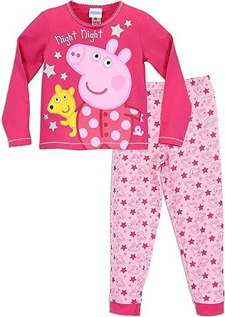 Peppa Pig Peppa Pig Einhorn Schlafanzug für Mädchen, Peppa