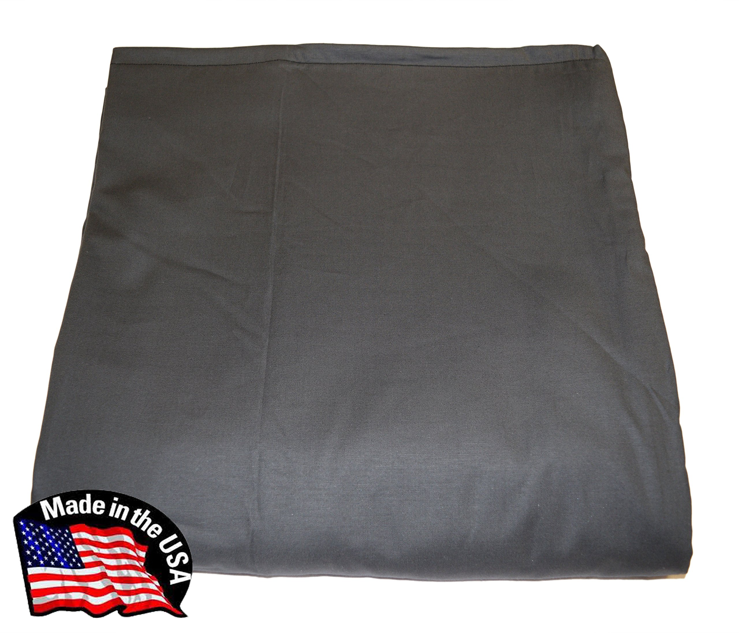 "WEIGHTED BLANKETS BY INDIA Made in AMERICA - Weighted Blanket SMOKE (5lb for 40lb) 48""x30"" Made with cool Cotton and Flannel - 11 color choices -15 size and weight options from 5–24lbs"