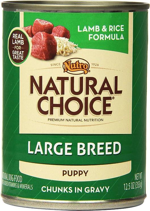 Nutro Natural Choice - Comida para Perro, diseño de Cordero y arroz: Amazon.es: Productos para mascotas
