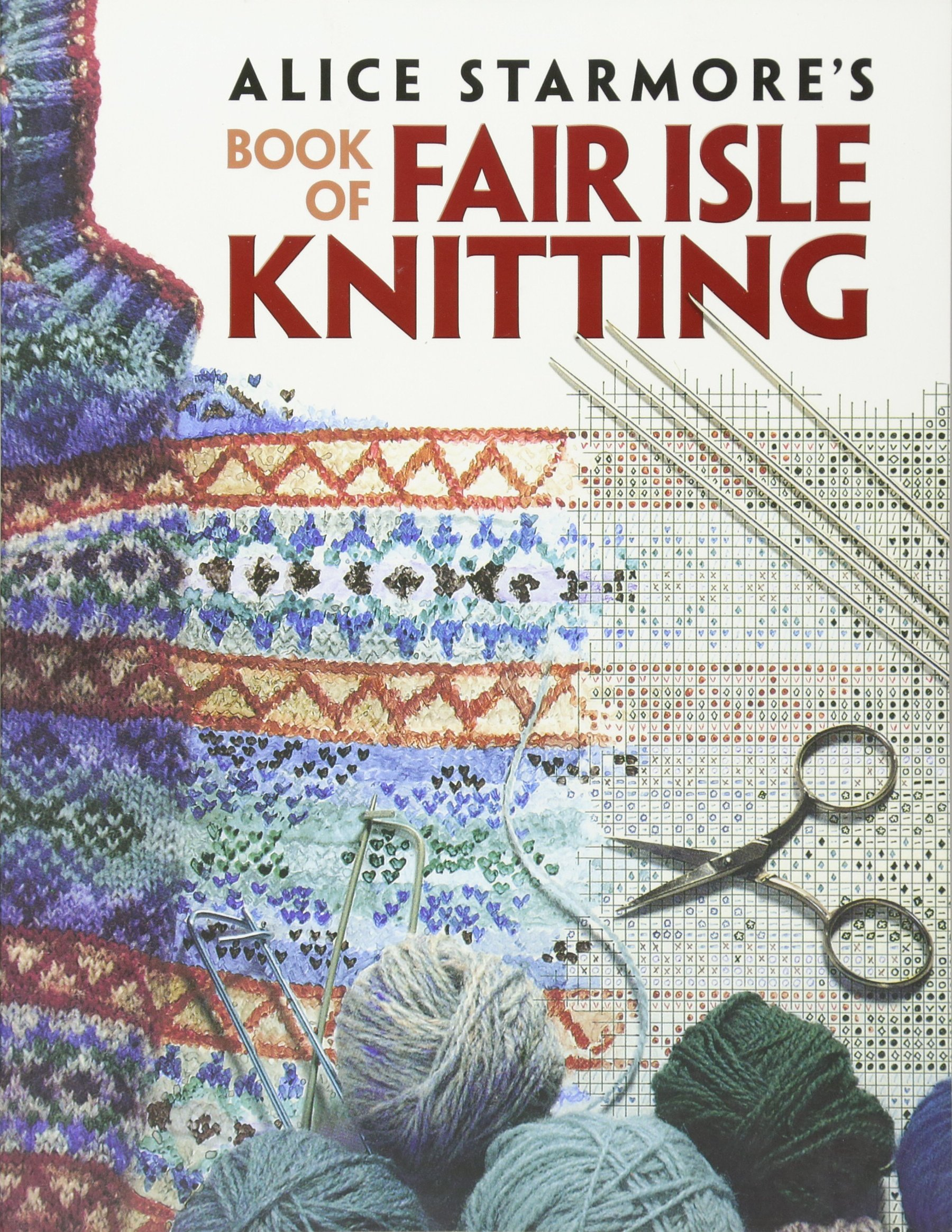 Free Crochet Paperback Book Cover Pattern ~ Alice starmore s book of fair isle knitting dover knitting