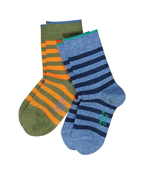 para Hombre Falke Multicolour Stripe Calcetines
