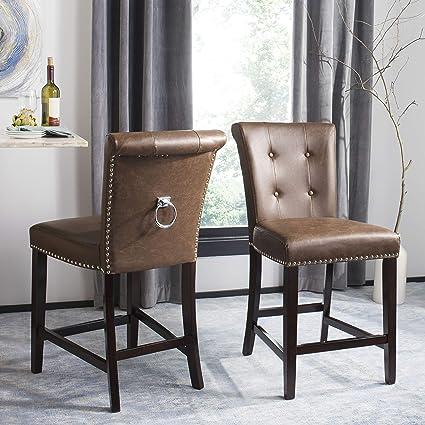 Superb Amazon Com Safavieh Bst6301D Set2 Taylor Counter Stool Ibusinesslaw Wood Chair Design Ideas Ibusinesslaworg