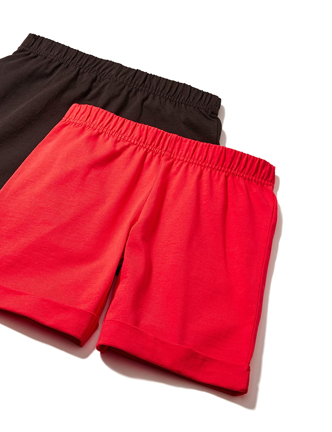 RED WAGON Girl's Jersey Shorts Two-Pack 2602