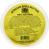 RA COSMETICS African 100% Natural 8oz by RA Cosmetics, Yellow, Shea Butter, 7 Ounce