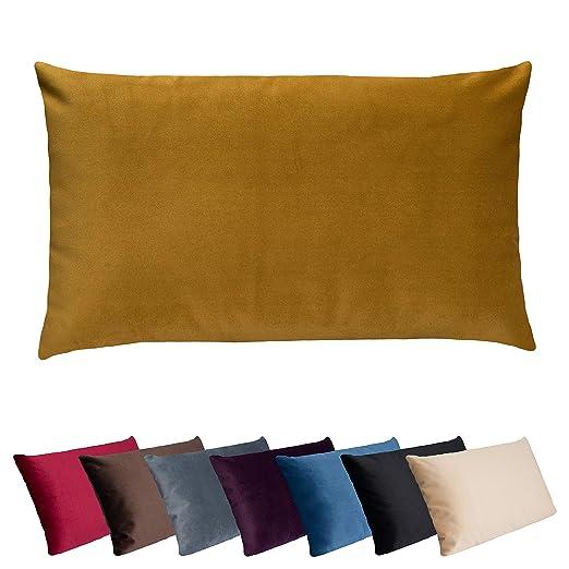Cojín para sofá con funda de terciopelo fino de tempracell ...