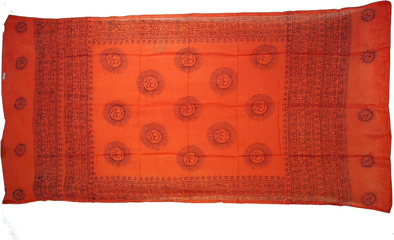Herren//Damen Benares Lunghi Rosa T/ücher Alternative Bekleidung Size:One Size Synthetisch Guru-Shop D/ünnes Baba Tuch