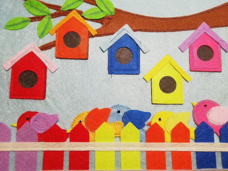 Colores para libro de actividades tipo Montessori, Quiet ...