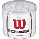 Wilson Pro Pack con 60 Overgrip para Raqueta, Unisex adulto, Blanco, Única
