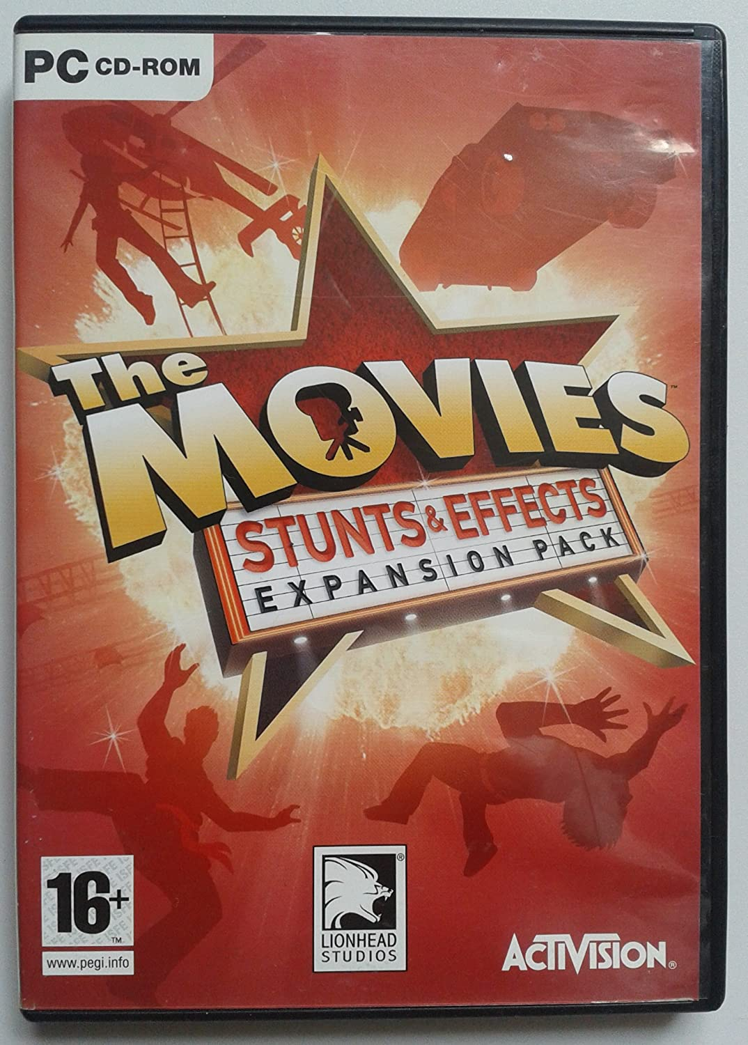 The Movies: Stunts & Effects Expansion Pack (PC CD-ROM): Amazon.es ...
