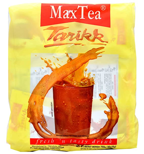 Max Tea Teh Tarikk 30-ct, 750 gramos: Amazon.es ...