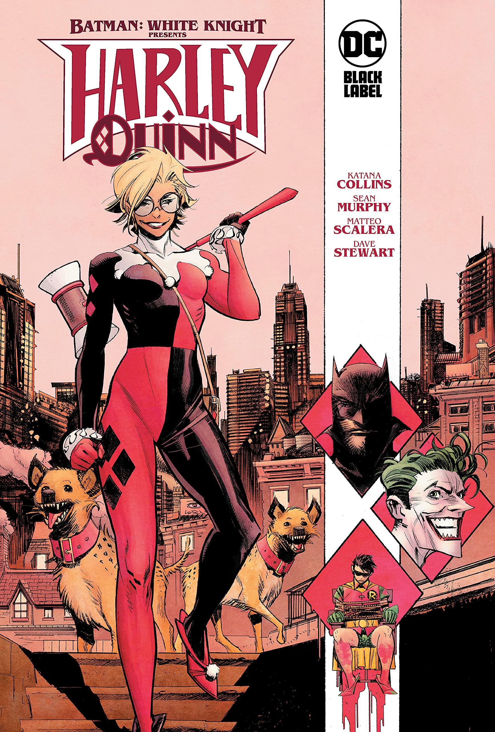 Amazon.com: Batman: White Knight Presents: Harley Quinn: 9781779510143:  Collins, Katana, Scalera, Matteo: Books