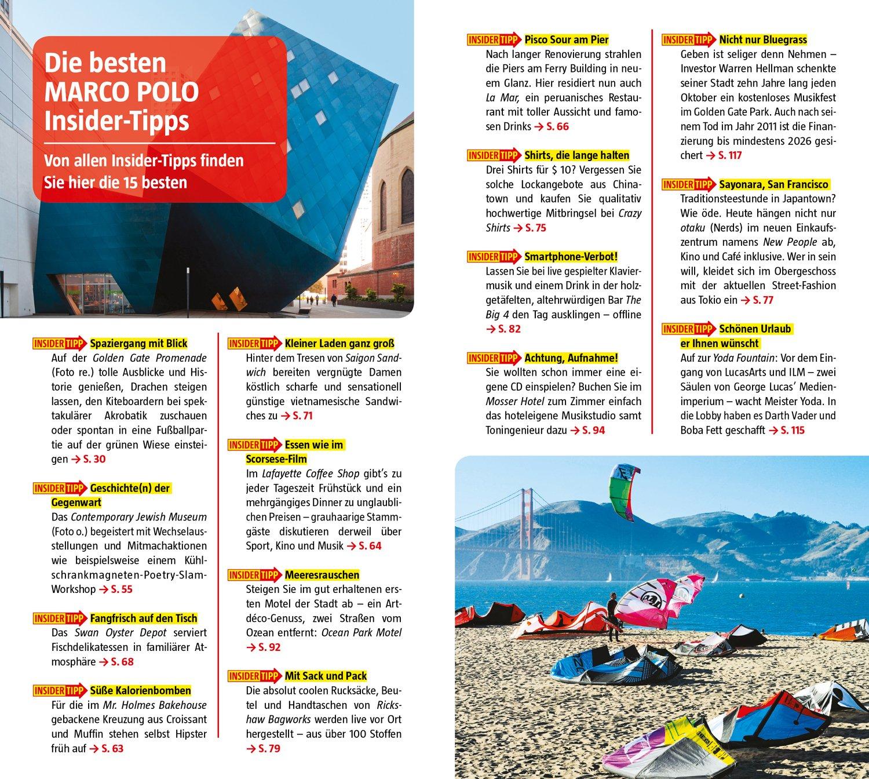 MARCO POLO Reiseführer San Francisco: Reisen mit Insider-Tipps ...