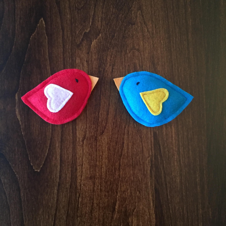 Love Bird Cat Toys with Organic Catnip - 2 Toy Pack
