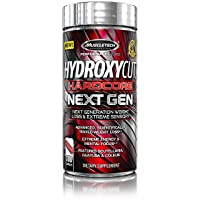 Hydroxycut Hardcore Next Gen, Scientifically Tested Weight Loss and Energy, Weight...
