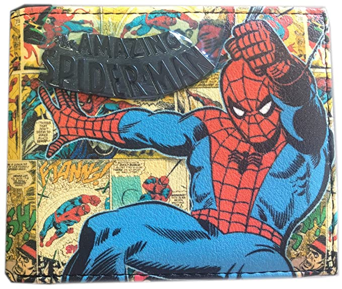 Amazon.com: Marvel Comics Spiderman Cartera – Spider-man ...