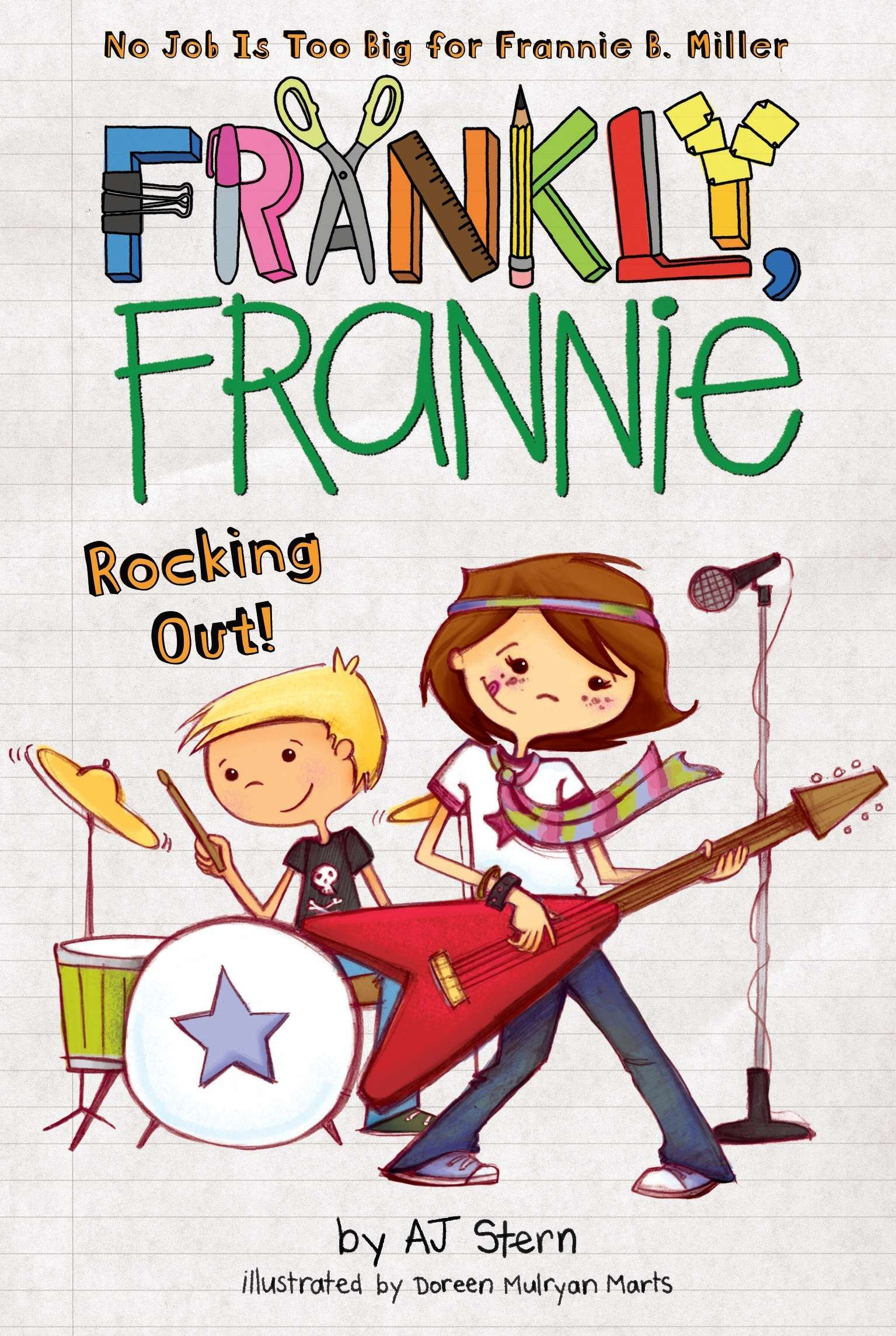 Read Online Rocking Out! (Frankly, Frannie) pdf