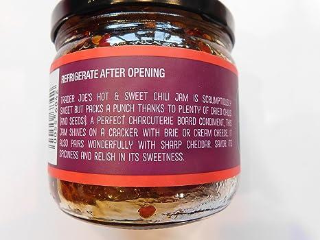 c2a7e9128f32 Amazon.com : Trader Joe's Hot and Sweet Chili Jam And NY Reusable ...