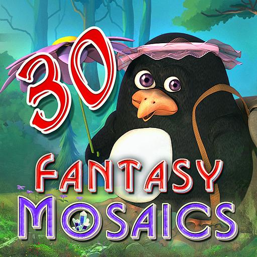 Fantasy Mosaics 30 : Camping Trip