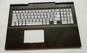 ZHENHUIYOUYUE for Dell Inspiron 15 7000 7567 7566 C Cover Palmrest Upper Case 0MDC8K