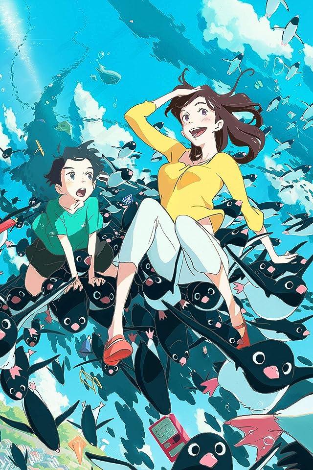 ペンギン・ハイウェイ アオヤマ , お姉さん iPhone(640×960)壁紙画像